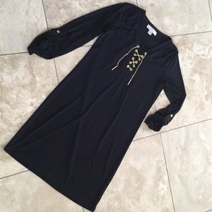 Michael Kors Gorgeous!! spandex shirt dress